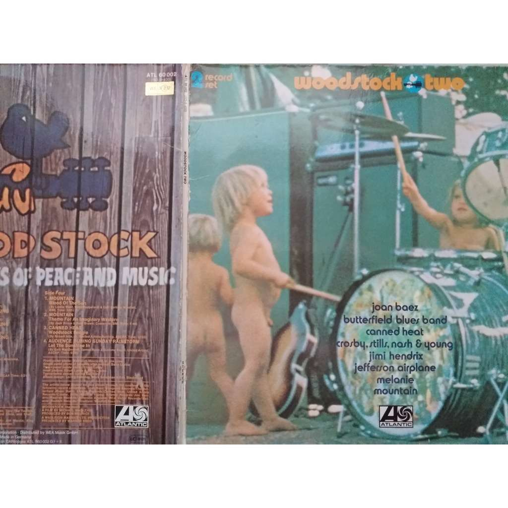 divers artistes - various artist woodstock two