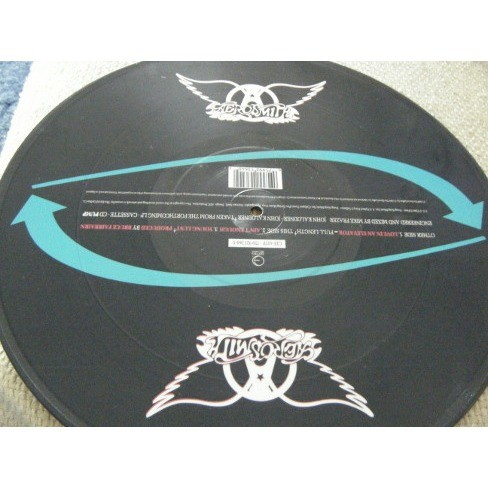 aerosmith love in an elevator - picture disc limited edition