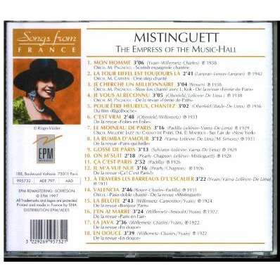 Mistinguett The Empress Of The Music-Hall