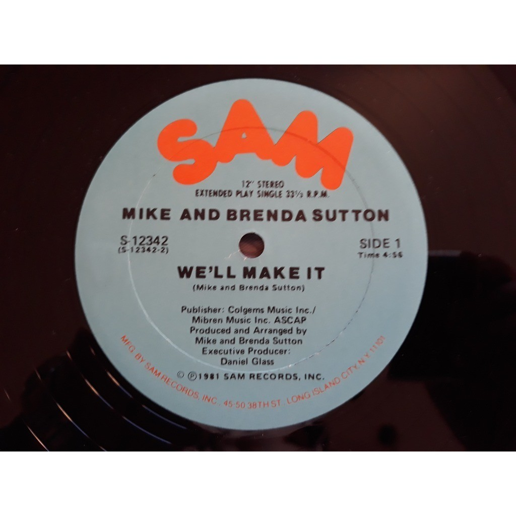 Mike And Brenda Sutton* - We'll Make It (12) Mike And Brenda Sutton* - We'll Make It (12) 1981