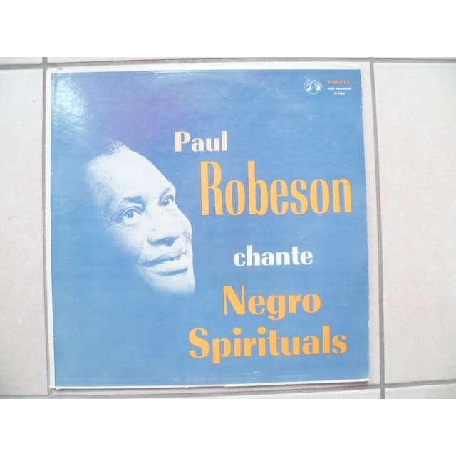 paul robeson chante negro spiritual