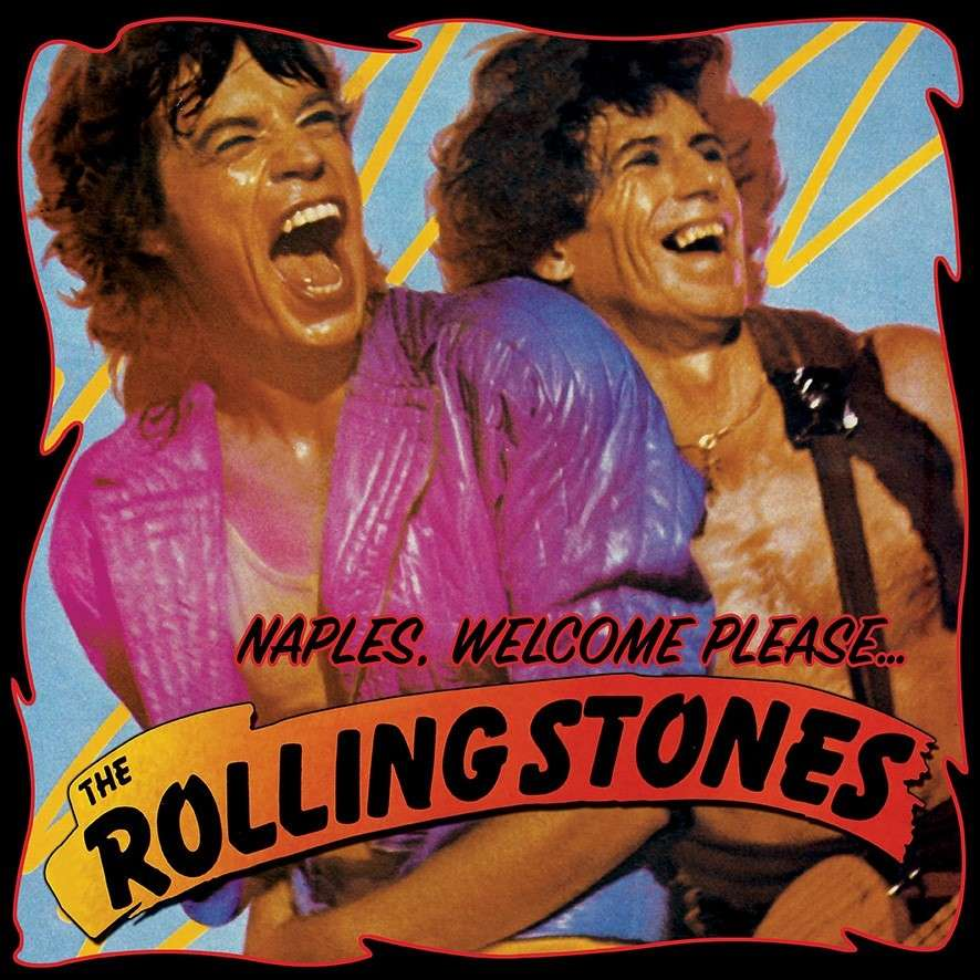 THE ROLLING STONES Naples,Welcome Please 2LP