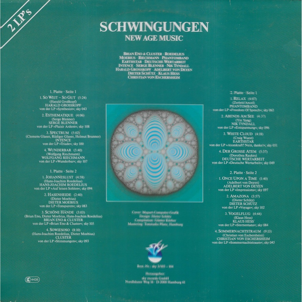 Divers SCHWINGUNGEN New Age Music