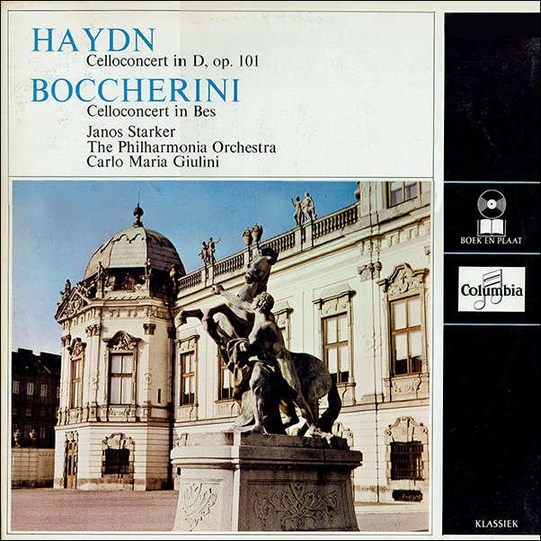 Haydn - Boccherini Cello Concert in D, op. 101 / Cello Concert in Bes