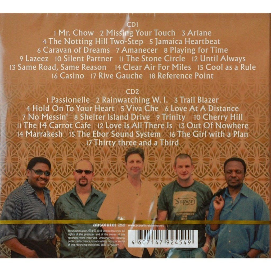 Acoustic Alchemy Greatest Hits