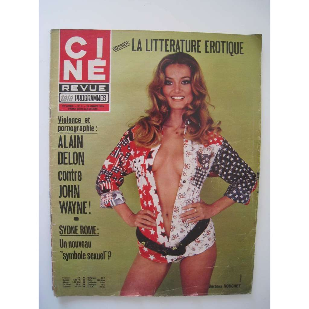 divers artistes - various artist ciné revue n° 4 24 janvier 1974
