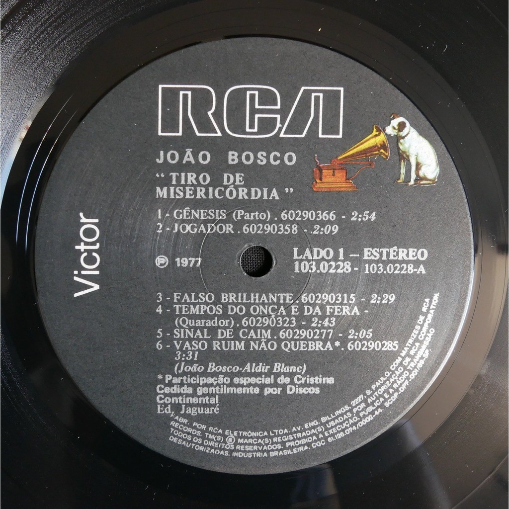 João Bosco Tiro De Misericórdia