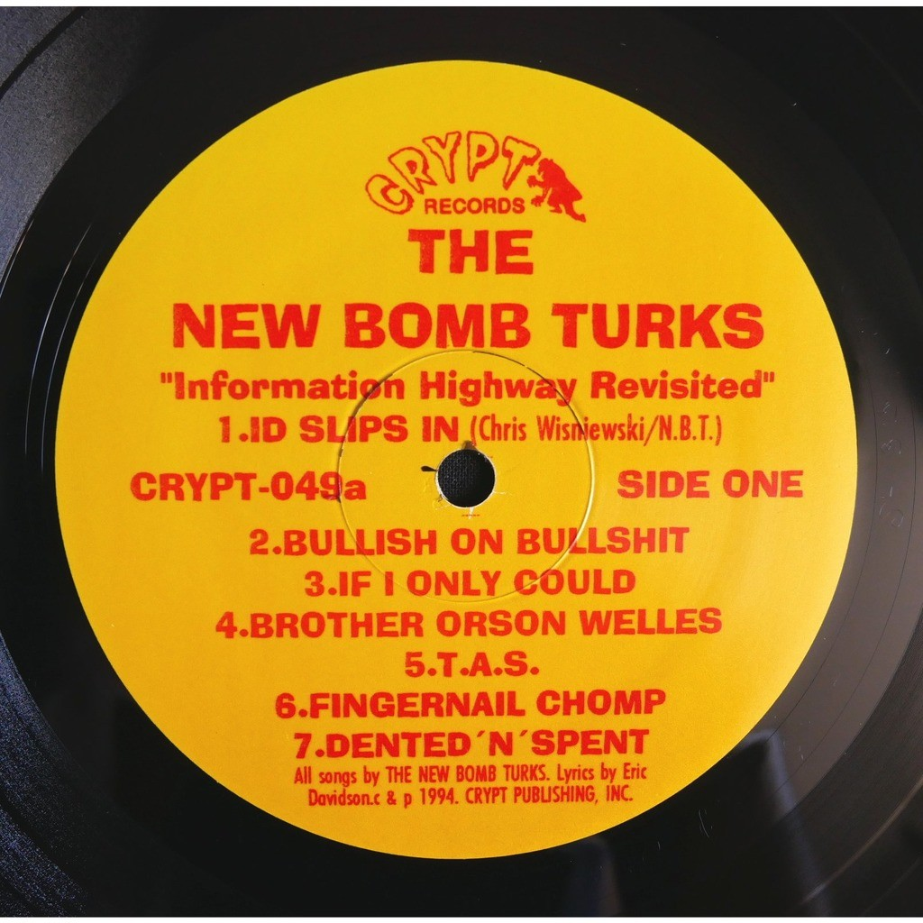 The New Bomb Turks Information Highway Revisited