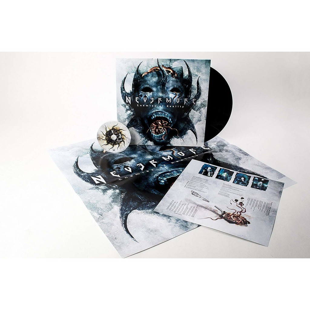 Nevermore Enemies Of Reality (lp+cd) Ltd Edit With Huge Poster -Ger