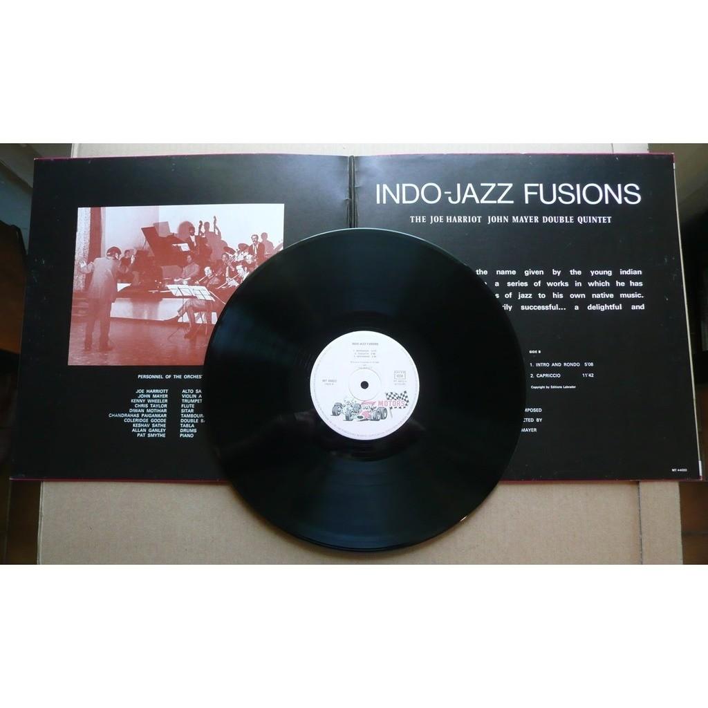 The Joe Harriot John Mayer Double Quintet Jazz - Indo-Jazz Fusions