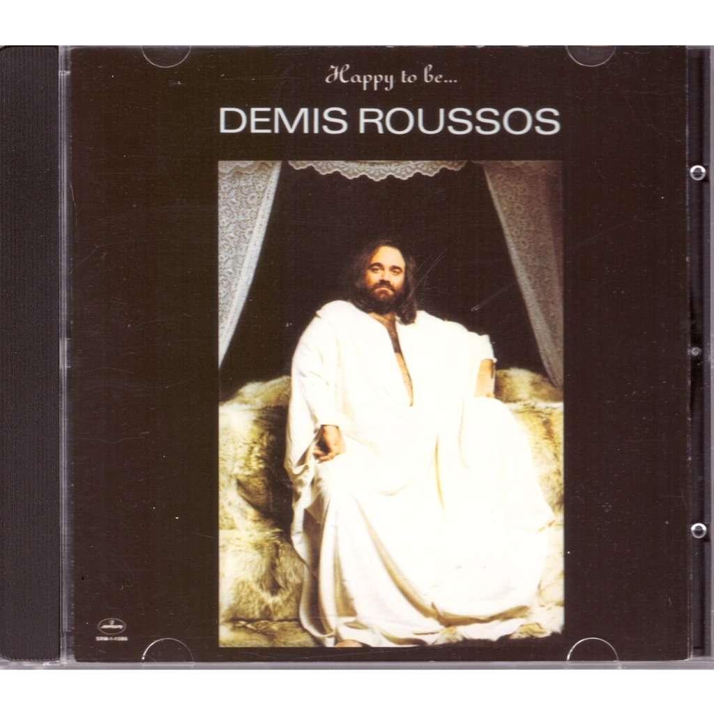 Demis Roussos happy to be...