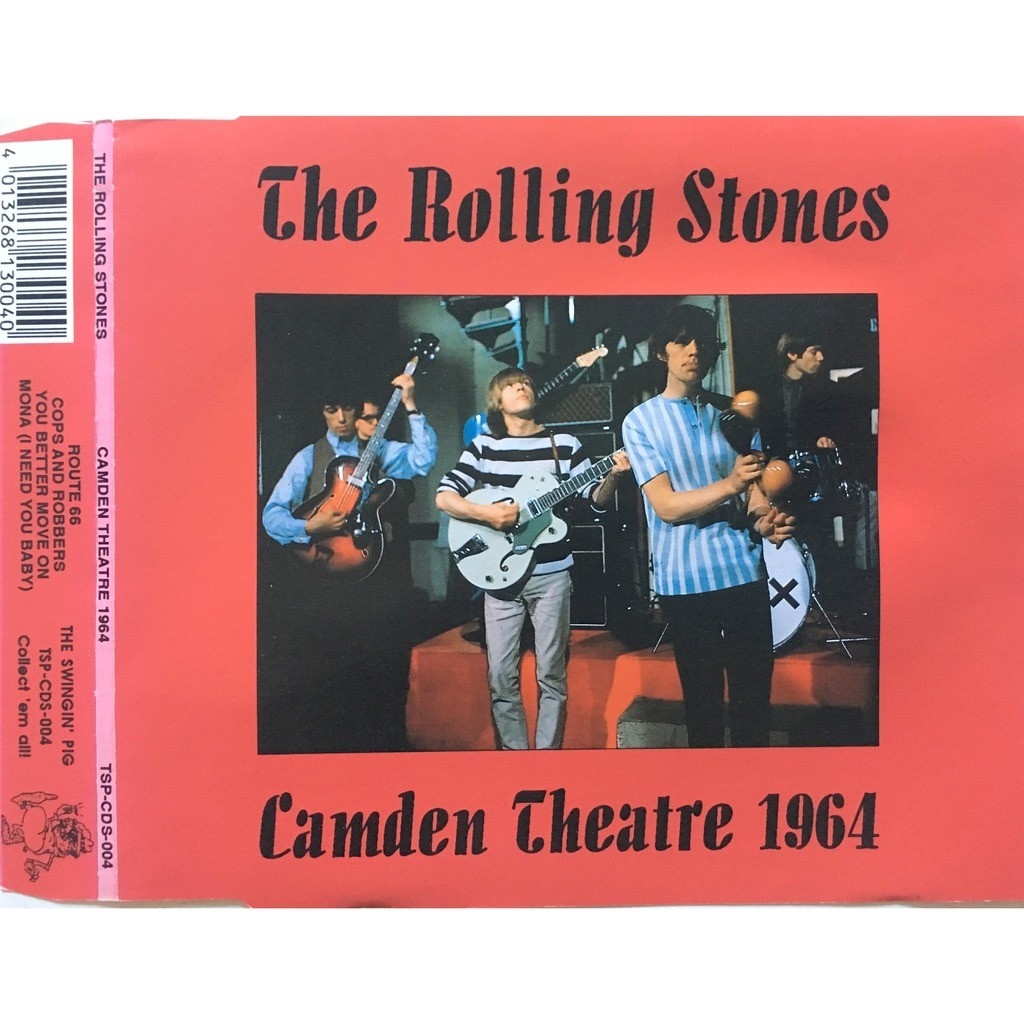 ROLLING STONES - CAMDEN THEATRE 1964 (CAMDEN THEATRE, LONDON, U.K., MARCH, 19, 1964)