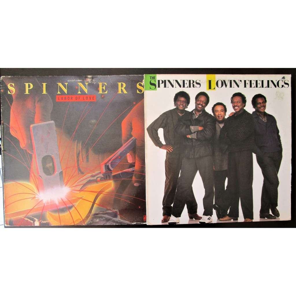The Spinners (2 Lp) Labor Of Love / Lovin' Feelings