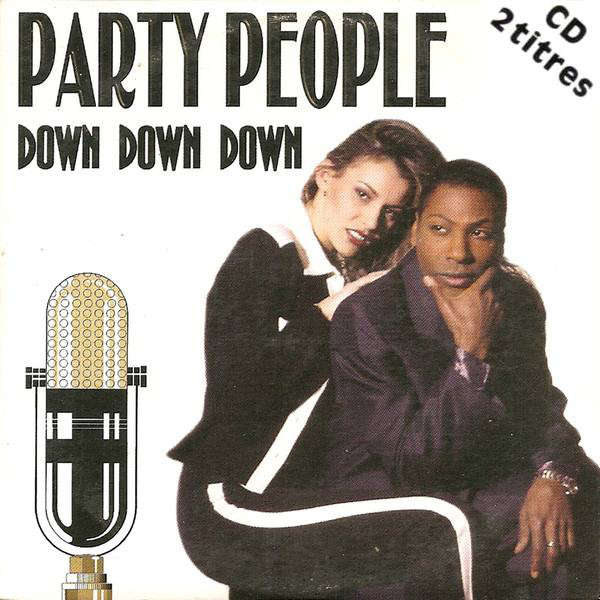 the party people DOWN DOWN DOWN