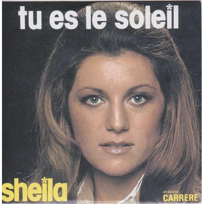 sheila tu es le soleil/non, chéri