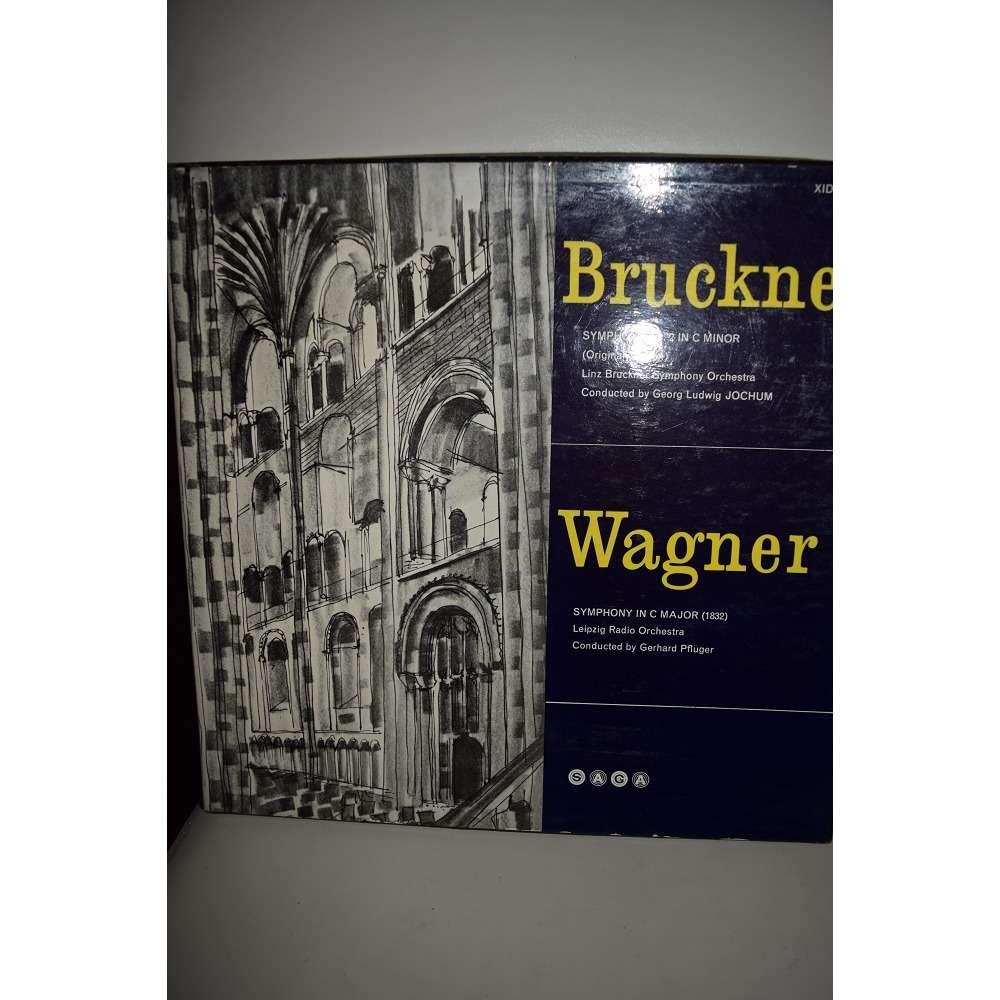 georg jochum et gerhard pfluger BRUCKNER - WAGNER