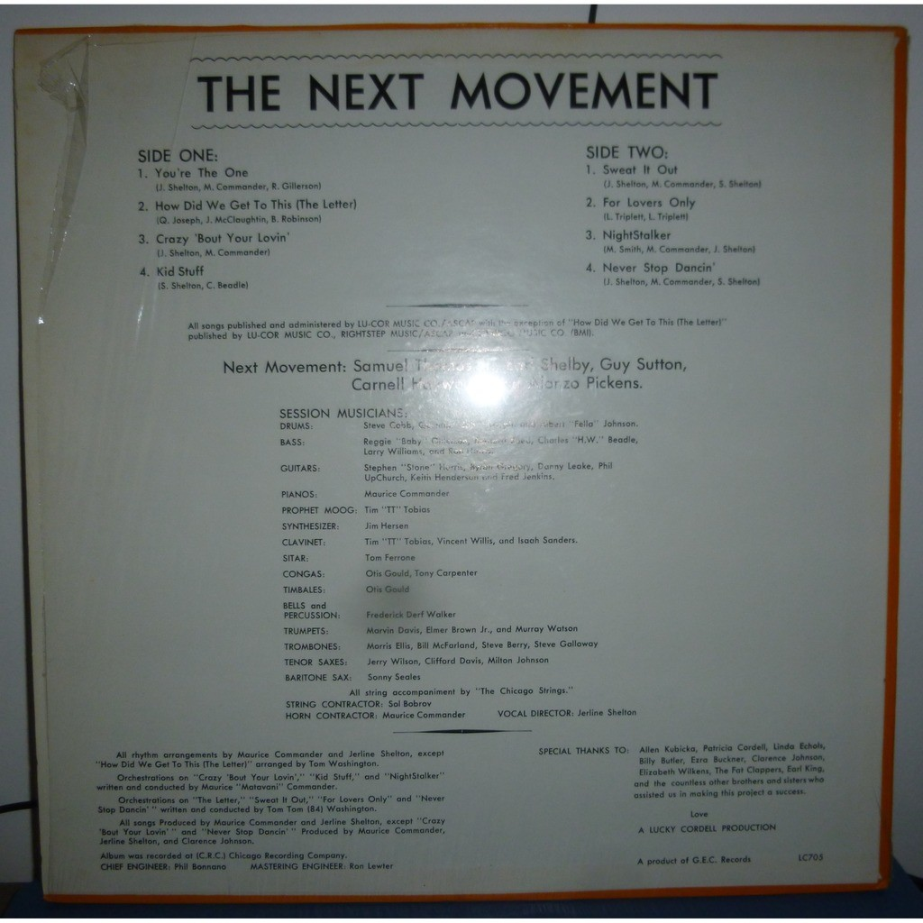 The Next Movement The Next Movement