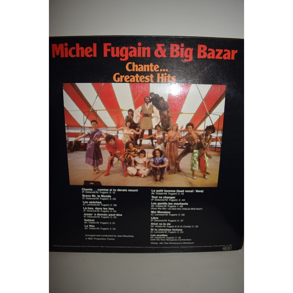 michel fugain et le big bazar chante greatest hits