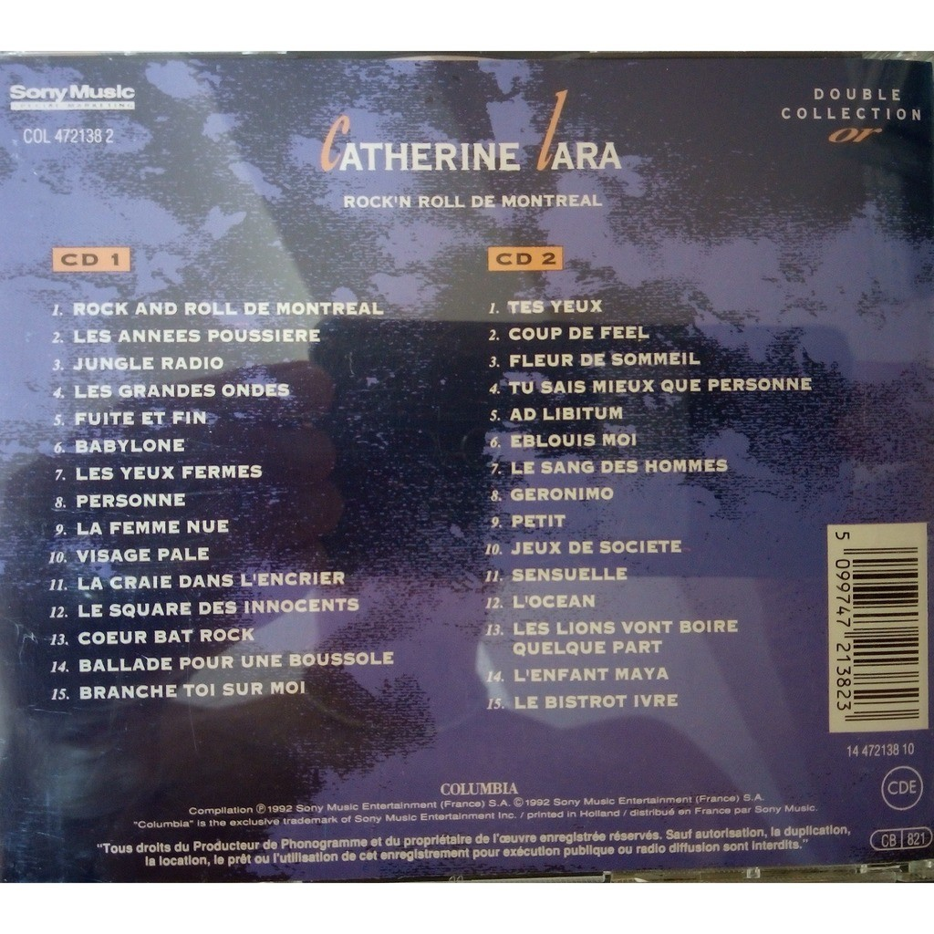 Catherine Lara Rock'n Roll de Montreal