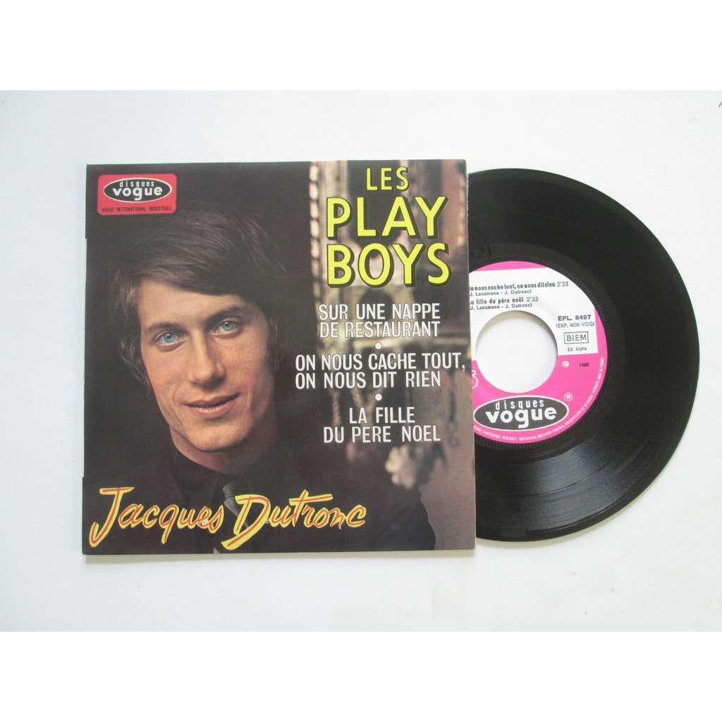 JACQUES DUTRONC Les play boys (4t)
