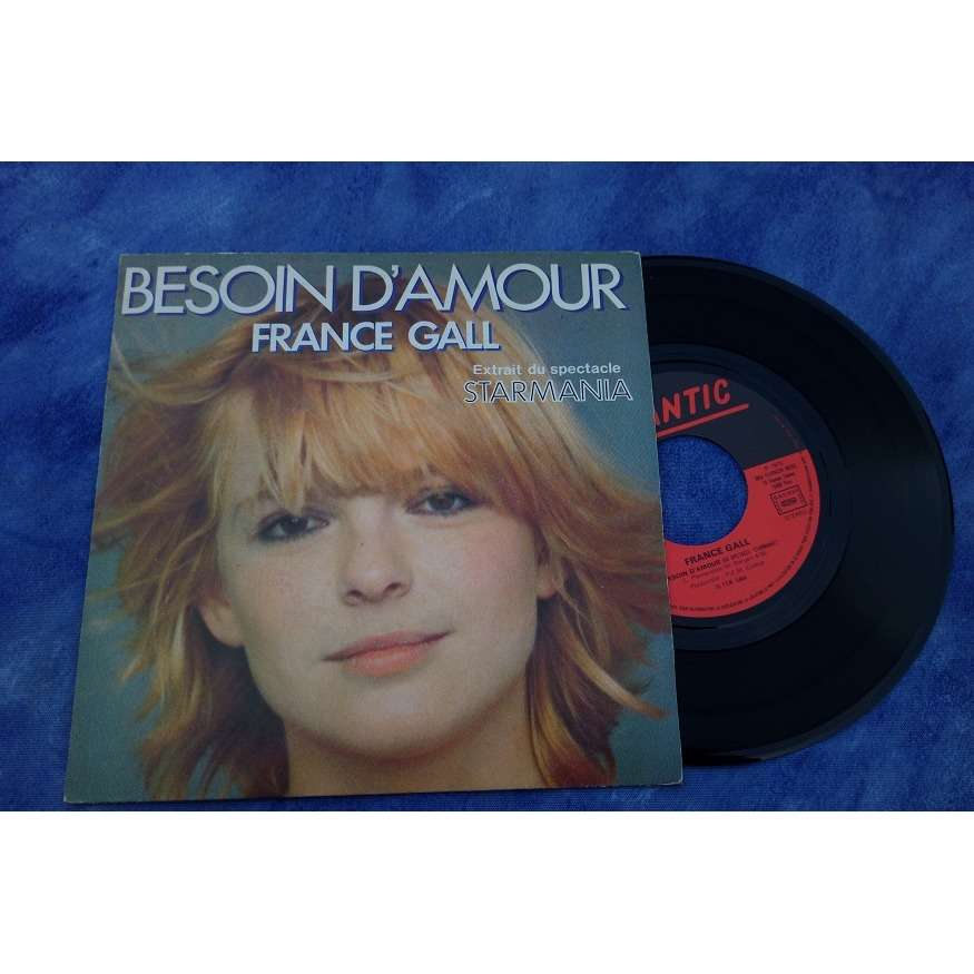 france gall besoin d'amour ( starmania 1979)