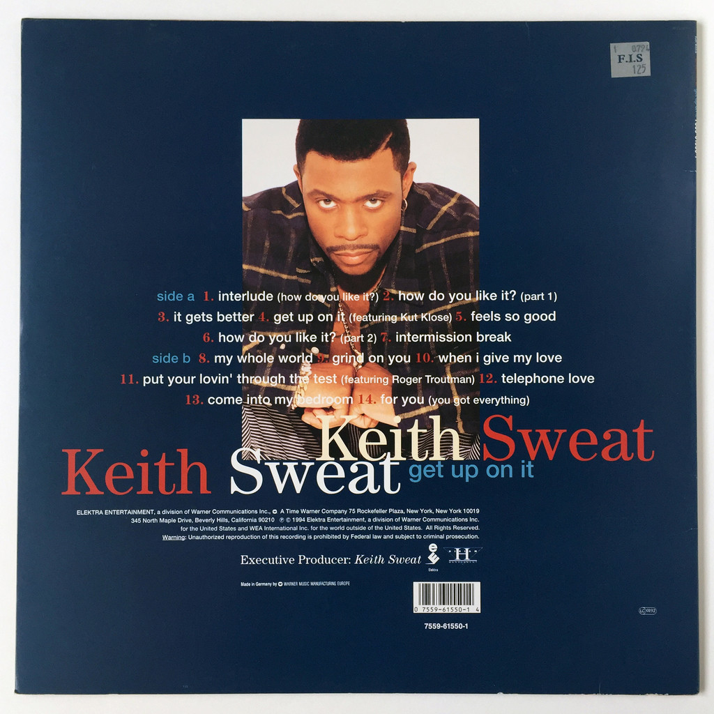 Keith Sweat Get Up On It