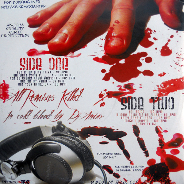 DJ Antar Remix Killer Volume II ( Promo )