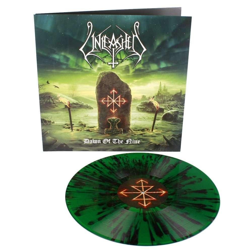 UNLEASHED Dawn of the Nine. Splatter Vinyl