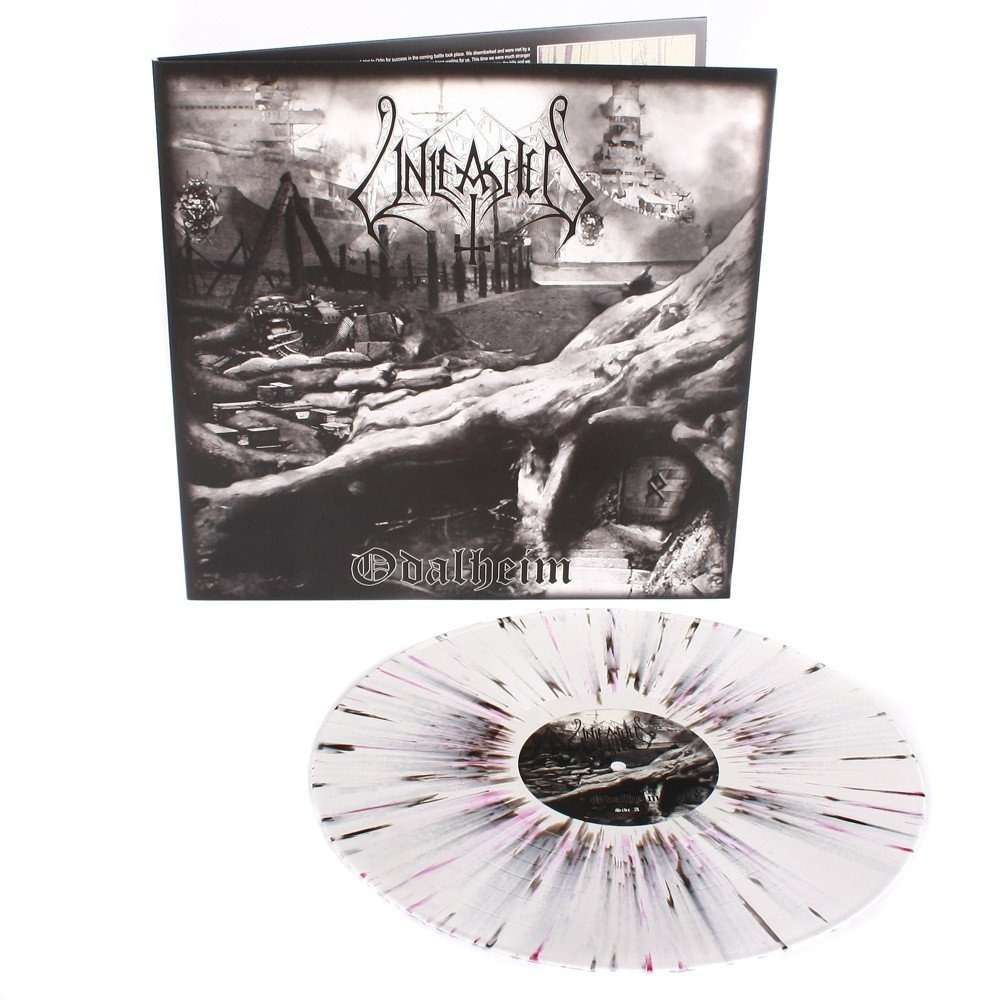 UNLEASHED Odalheim. Splatter Vinyl