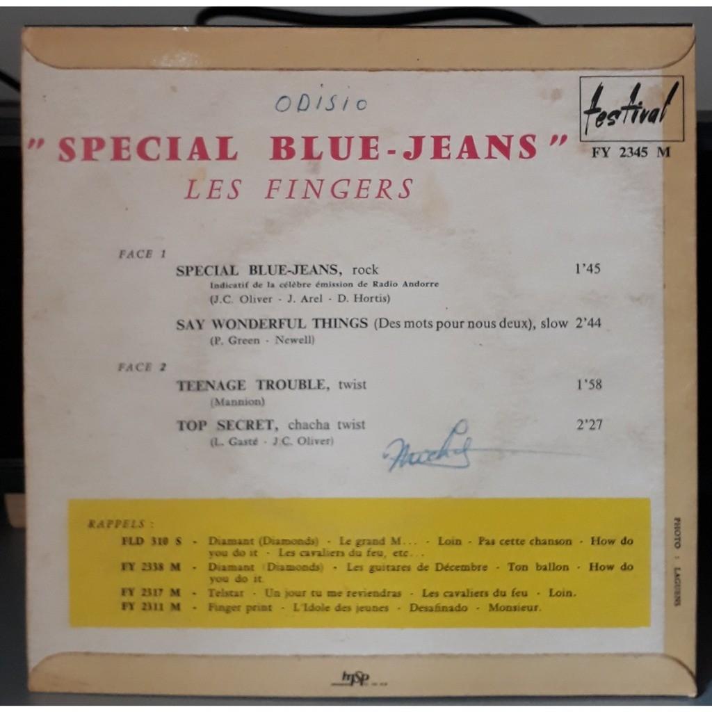 les fingers special blue-jeans