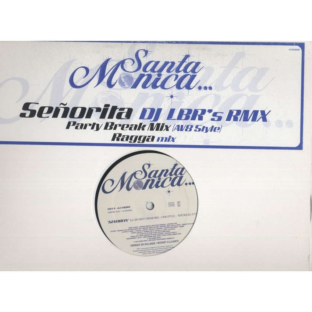 santa monica Señorita (DJ LBR's RMX) - Promo