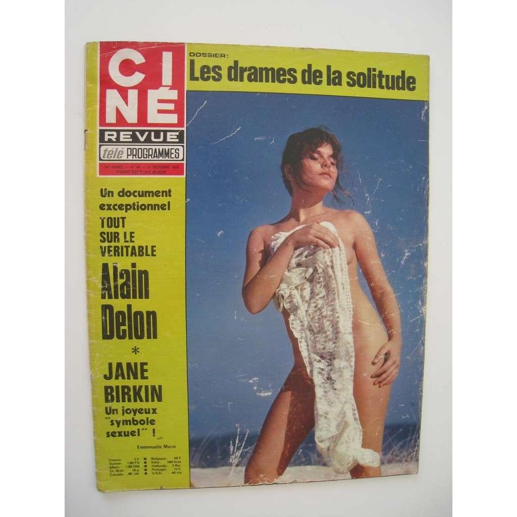 divers artistes - various artist ciné revue n° 44 31 octobre 1974
