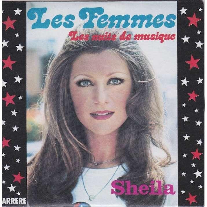 sheila les femmes/les nuits de musique