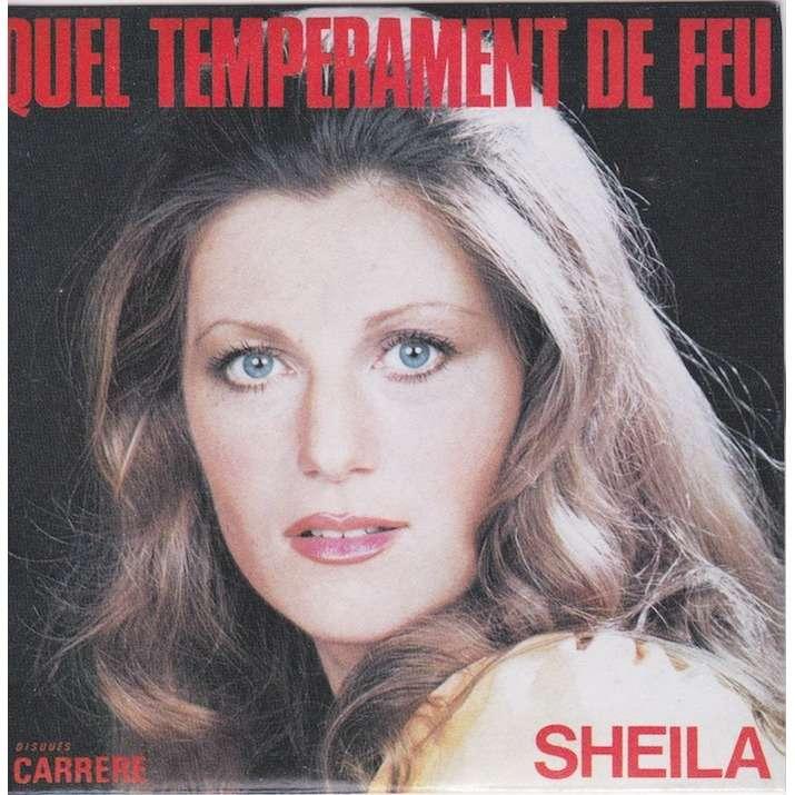 sheila quel tempérament de feu/laisse toi rêver