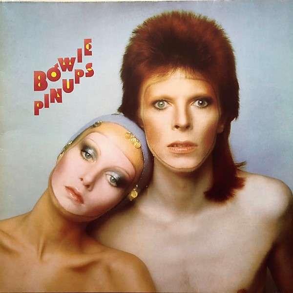 david bowie Pinups (German 1973 original 12-trk LP on RCA lbl unique 'Smaller Titles' gatefold ps)