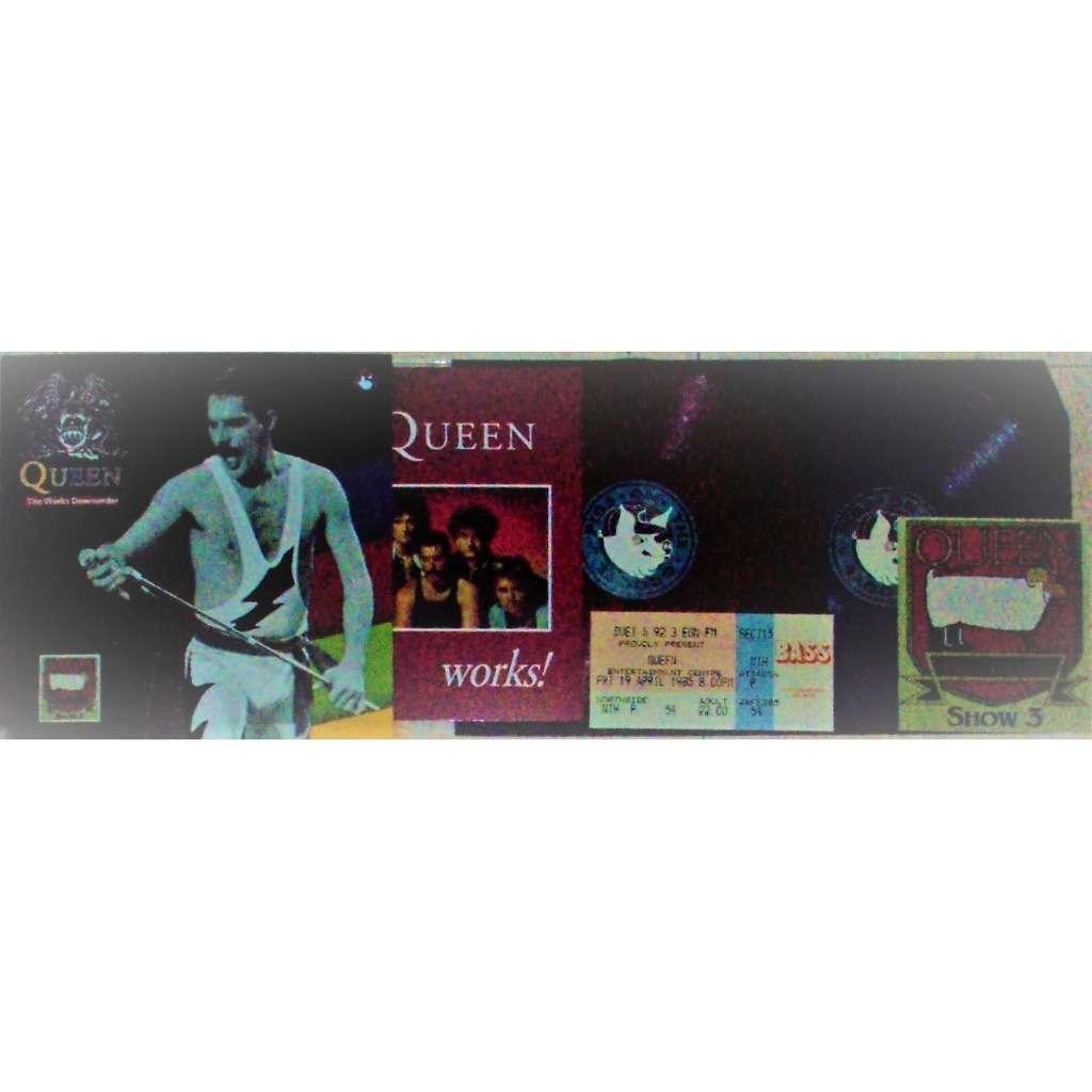 The Queen Works Downunder (Melbourne AU 12.04.1985) (Ltd 300 no'd copies 2lp red+purple wax gf ps+gadgets!)