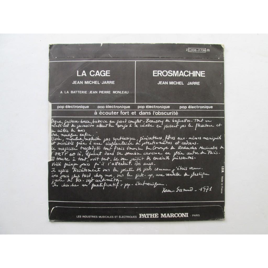 JEAN MICHEL JARRE La Cage / Erosmachine