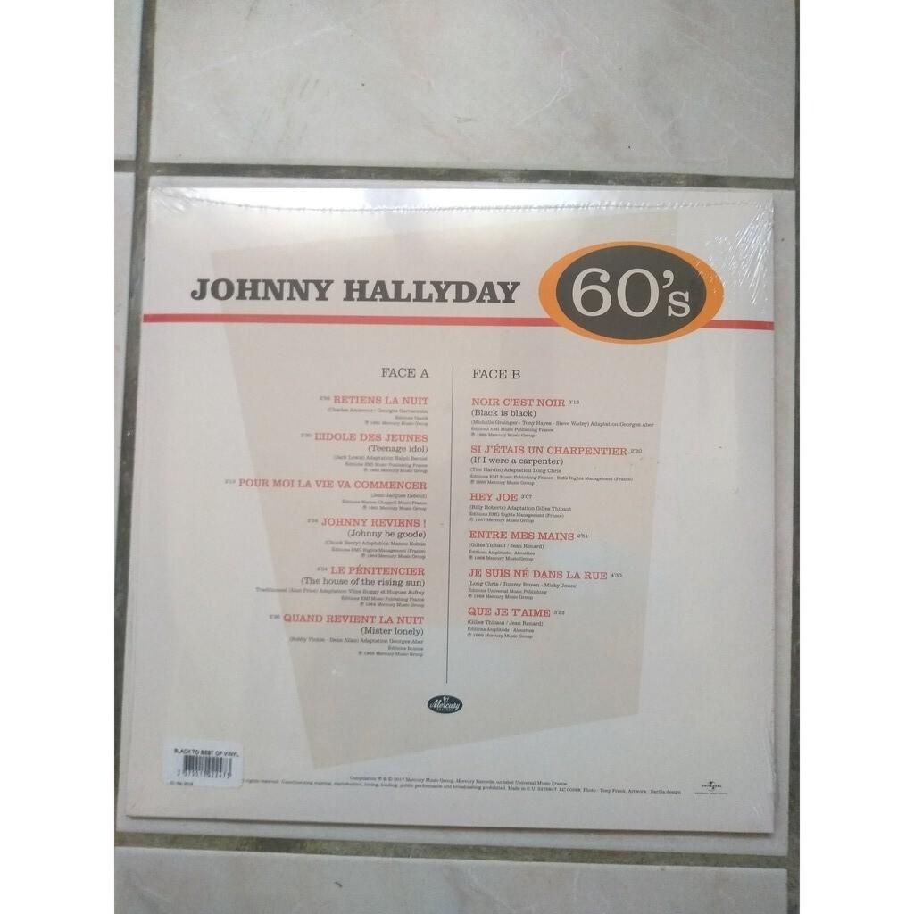 johnny hallyday best of 60's