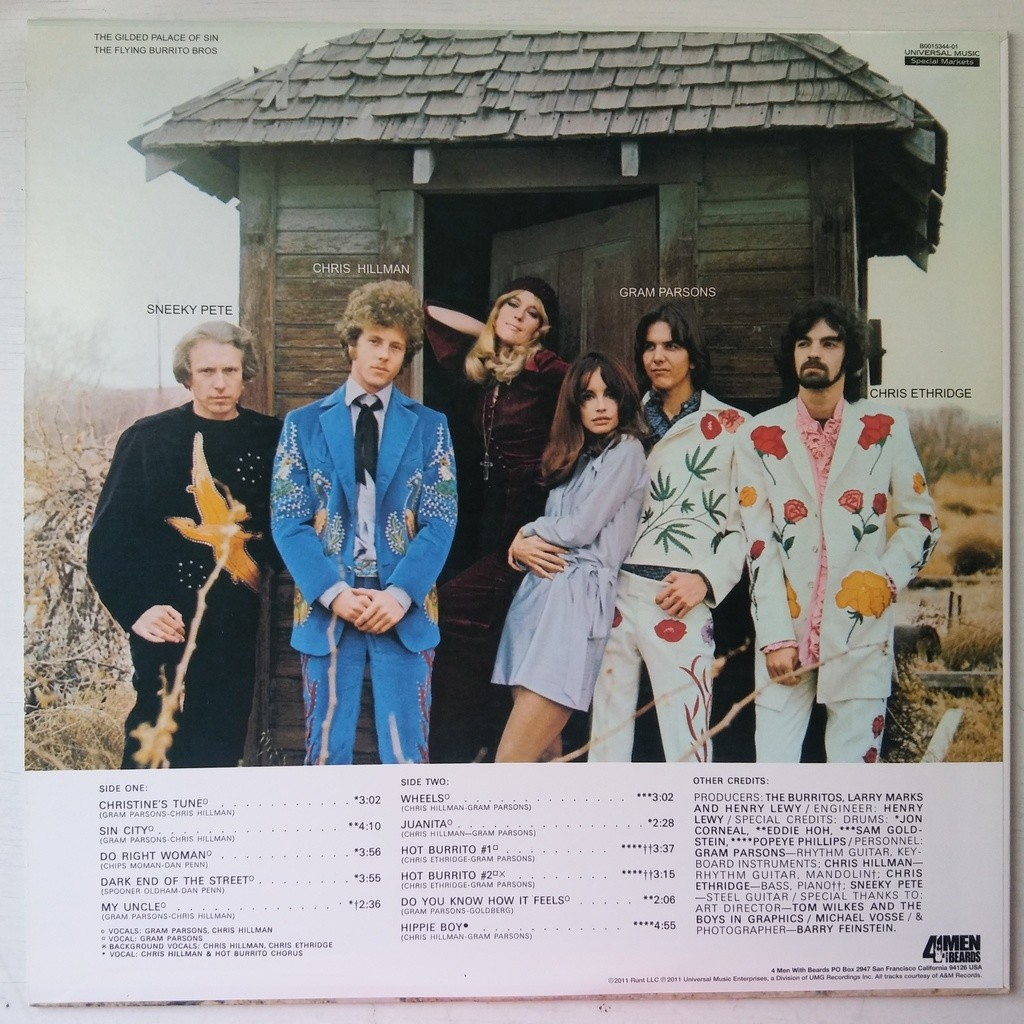 The Flying Burrito Bros The Gilded Palace Of Sin