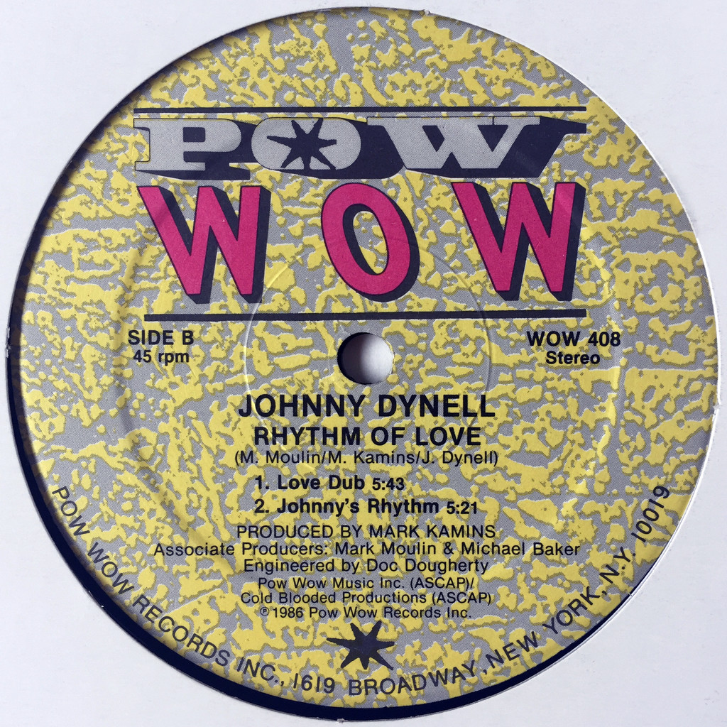Johnny Dynell Rhythm Of Love