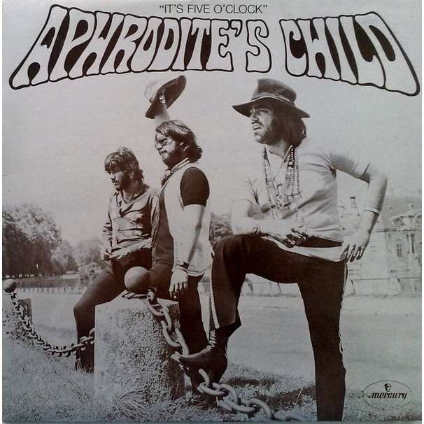 APHRODITE'S CHILD It's five o'clock (rare second French press - early 1970s - gatefold & clap cover - B code - SACEM)