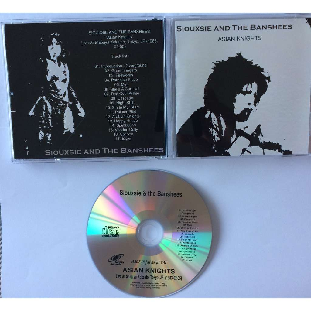 The House Of Sin Dvd siouxsie & the banshees asian knights in concert