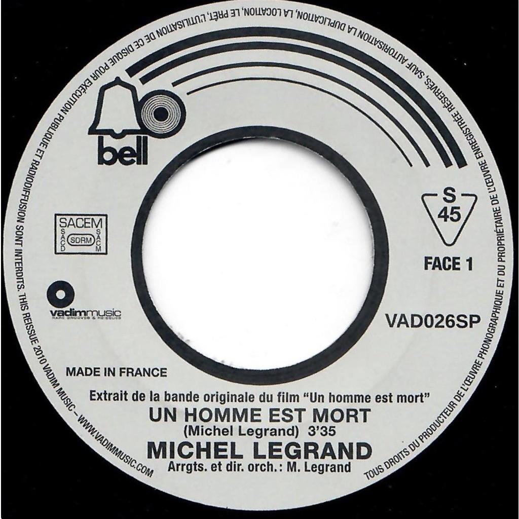 MICHEL LEGRAND Un homme est mort / Onyx Bar