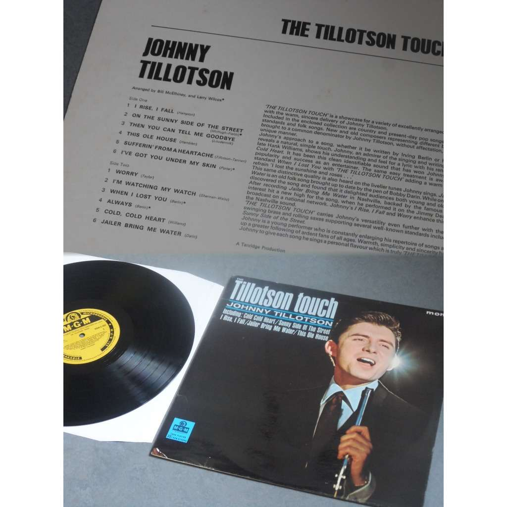 Johnny Tillotson The Tillotson Touch