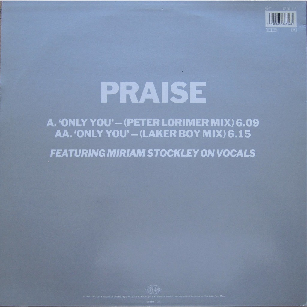 praise feat miriam stockley only you