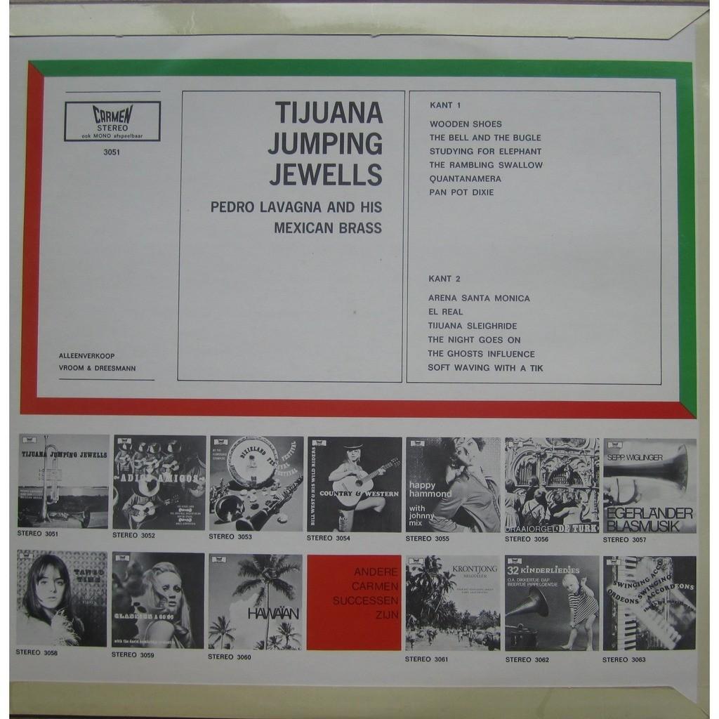 pedro lavagna and his mexican brass tijuana jumping jewells