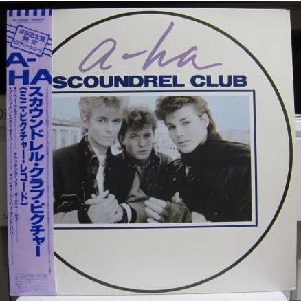 A-ha Scoundrel Club -Picture Disc-