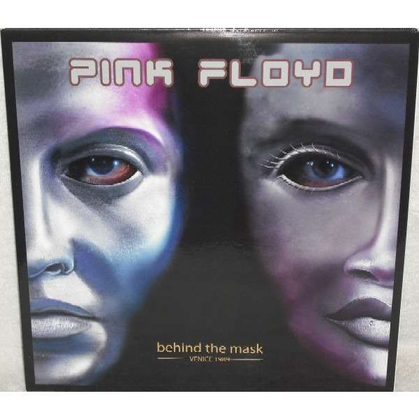 pink floyd Behind The Mask - Venice 1989 - Limited edition nr. 364/500 2 LP Yellow Vinyl