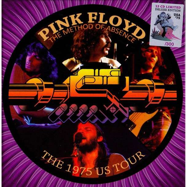 Pink Floyd The Method Of Absence - The 1975 US Tour - BOX 15 CD Limited Edition 300 copies