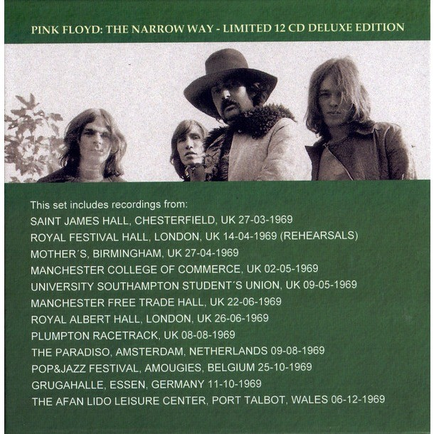 Pink Floyd The Narrow Way - A Look At The 1969 Live Recordings BOX 12 CD - Limited Edition 300 copies